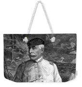 Admiral Dewey At Sea Weekender Tote Bag