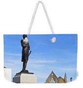 Admiral Lord Nelson And Royal Garrison Church Weekender Tote Bag