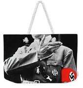 Adolf Hitler Arm Over Chest Circa 1934-2015 Weekender Tote Bag
