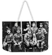 Adolf Hitler With  Fellow Soldiers From The List Regiment  Number Two Circa 1916 Weekender Tote Bag