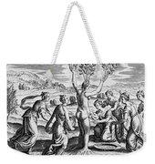 Adonis Being Born From Myrrha Weekender Tote Bag