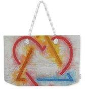 Adoption Symbol Weekender Tote Bag