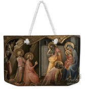Adoration Of The Kings Weekender Tote Bag