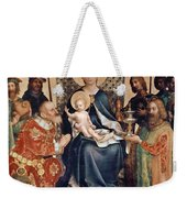 Adoration Of The Magi Altarpiece Weekender Tote Bag by Stephan Lochner