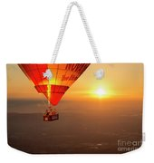 Adrift In The Mist At Sunrise Weekender Tote Bag