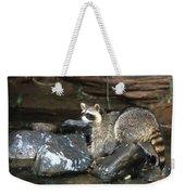 Adult Raccoon Hunting Weekender Tote Bag