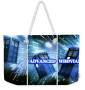 Advanced Whovians Alt Weekender Tote Bag