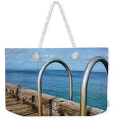 Adventure Into The Blue Weekender Tote Bag