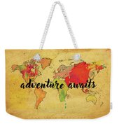 Adventure Weekender Tote Bag