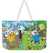 Adventure Time Weekender Tote Bag