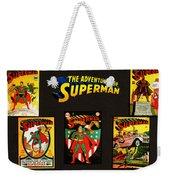 Adventures Of Superman Weekender Tote Bag