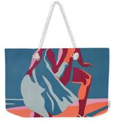Advertisement For Bally Sandals Weekender Tote Bag