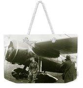 Amelia Earhardt, Ireland, Solo Atlantic Crossing, May 21st, 1932 Weekender Tote Bag