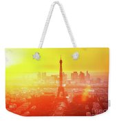 Sunset In Paris  Weekender Tote Bag