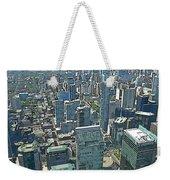 Aerial Abstract Toronto Weekender Tote Bag
