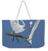 Aerial Ballet Weekender Tote Bag