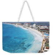 Aerial Of Cancun Weekender Tote Bag