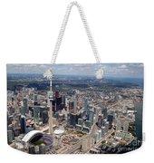 Aerial Of Downtown Toronto Ontario Weekender Tote Bag