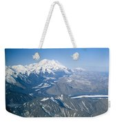 Aerial Of Mount Mckinley Weekender Tote Bag