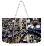Aerial Of The Maze Near The Bay Bridge, San Francisco Weekender Tote Bag