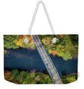 Aerial View Of A Bridge Weekender Tote Bag