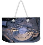 Aerial View Of Ancient Roman Theater Weekender Tote Bag