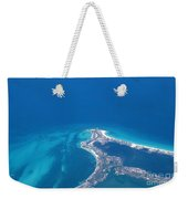 Aerial View Of Cancun Weekender Tote Bag