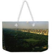 Aerial View Of Central Park, An Oasis Weekender Tote Bag