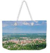 Aerial View Of The Beautiful University Of Colorado Boulder Weekender Tote Bag