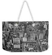 Aerial View Of Union Square Weekender Tote Bag