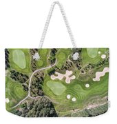 Aerial View Over Golf Field In Poland. Summer Time. Weekender Tote Bag