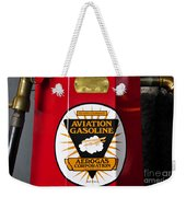 Aerogas Red Pump Weekender Tote Bag