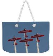 Aeroshell Aerobatic Team Weekender Tote Bag by Susan Rissi Tregoning