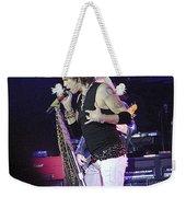 Aerosmith-steven Tyler-00059 Weekender Tote Bag