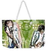 Aerosmith Watercolor Weekender Tote Bag