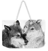 Affection Of Wolves Weekender Tote Bag