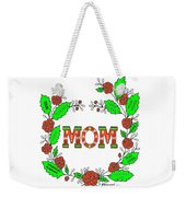Super Mom Weekender Tote Bag