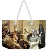 Afghan Hound-the Concert  Canvas Fine Art Print Weekender Tote Bag