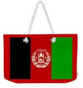 Afghanistan Flag Weekender Tote Bag