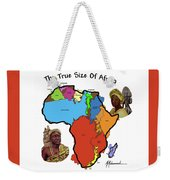 Africa In Perspective Weekender Tote Bag