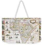 Africa Nova Map Weekender Tote Bag