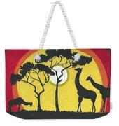 Africa#1 Weekender Tote Bag