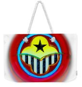 African American Button Weekender Tote Bag