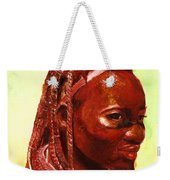African Beauty Weekender Tote Bag