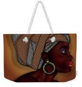 African Beauty Weekender Tote Bag