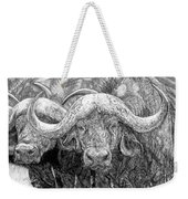 African Cape Buffalo Weekender Tote Bag