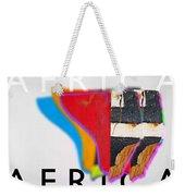 African Weekender Tote Bag