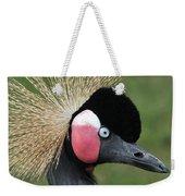 African Crowned Crane #7 Weekender Tote Bag