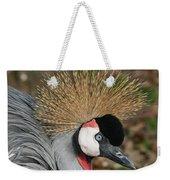 African Crowned Crane #8 Weekender Tote Bag
