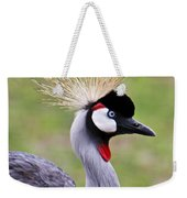 African Crowned Crane Weekender Tote Bag
